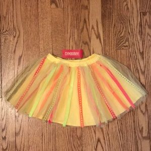 Gymboree Citrus Cooler Ribbon Tutu Skirt 5T K14